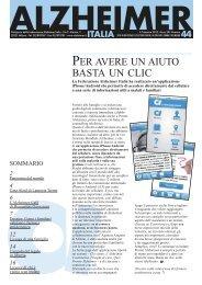 Notiziario 44 - Alzheimer Italia