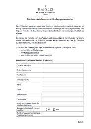 Mandanten- Aufnahmebogen (PDF) - Kanzlei - Im Alten Pfarrhaus ...