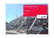 Göransson Arena - WSP Group