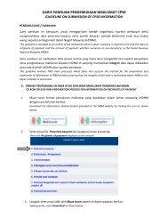 garis panduan pengemukaan maklumat cp58 - Lembaga Hasil ...