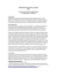 Propane Price Analysis - Economics and Statistics Administration ...