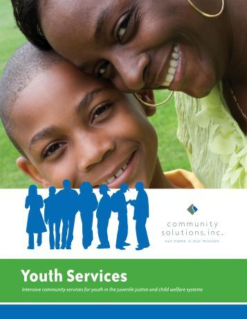 Youth Services Brochure - Community Solutions Inc.