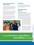 Youth Services Brochure - Community Solutions Inc. - Page 2