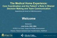 Webinar Slides - Patient-Centered Primary Care Collaborative