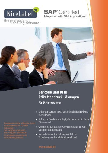 NiceWatch Enterprise Business Connector leaflet