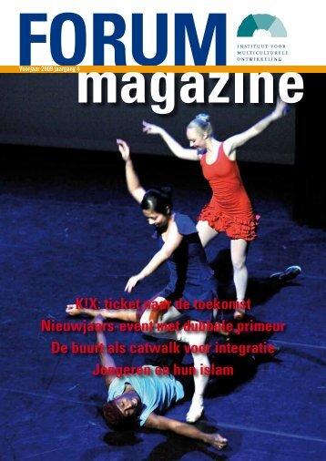 FORUMmagazine - voorjaar 2009, jaargang 4 - archief van www.forum.nl