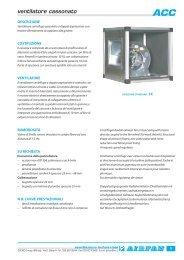 ventilatore cassonato - Airfan