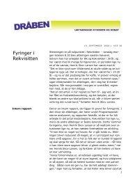 Fyringer i Rekvisitten - Seniorklubben for nuværende og tidligere ...