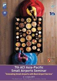7th ACI Asia-Pacific Small Airports Seminar - Airports Council ...