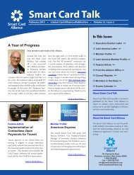 Download PDF version of the February Smart Card Talk.