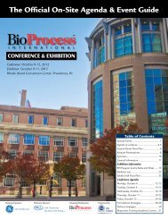 Wednesday, October 10, 2012 - IBC Life Sciences