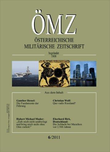 Die Fundamente der Führung - Österreichs Bundesheer
