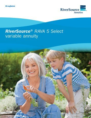 RiverSource® RAVA 5 Select variable annuity