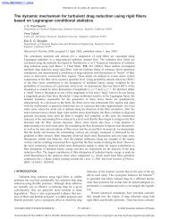 The dynamic mechanism for turbulent drag reduction using rigid ...