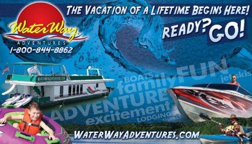 2013 WaterWay Adventures Brochure