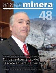 El líder subterráneo del rescate en la mina San José - Areaminera