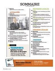 Le sommaire - les articles de l'hebdomadaire La Gazette des ...