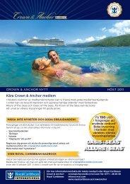 Kära Crown & Anchor medlem - Royal Caribbean