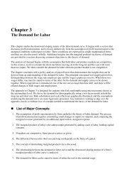 Homework For Assignment 2 (Chapter 3)