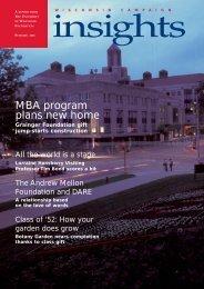 Insights - University of Wisconsin Foundation