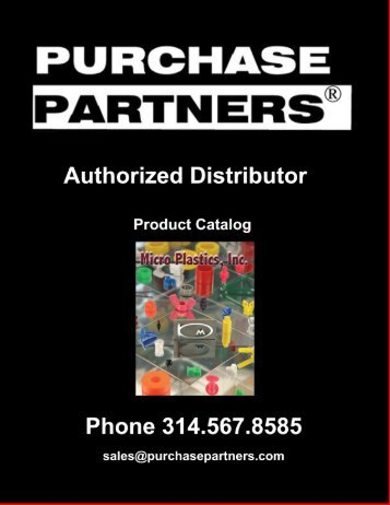 Panel Fasteners and Hole Plugs Catalog - Purchase Partners