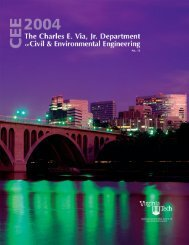 Annual Report Year 2004 - Civil and Environmental Engineering