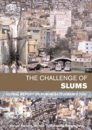 The Challenge of Slums: Global Report on Human Settlements 2003 ...
