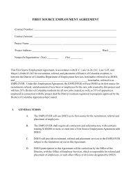 09 Exhibit D First Source Employment Agreement