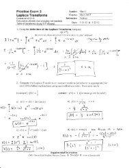 Answers to Practice Exam 3