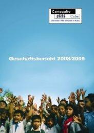 Geschäftsbericht 2008/2009 - Camaquito