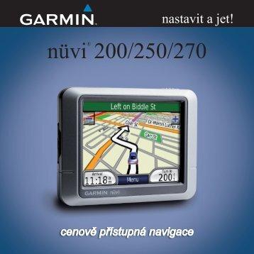 nüvi® 200/250/270 - Garmin