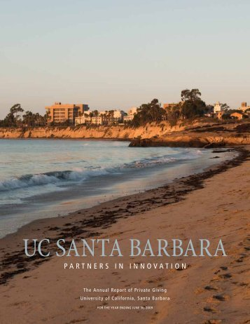 Ga N N - Institutional Advancement - University of California, Santa ...