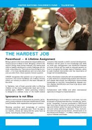 The Hardest Job: Parenthood - A Lifetime Assignment