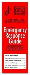 Emergency Response Guide - Illinois Central College