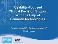 Usability-Focused Clinical Decision Support with the Help of ...
