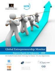 Global Entrepreneurship Monitor - Facultad de Economía y ...