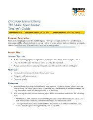 Program Description - Discovery Education