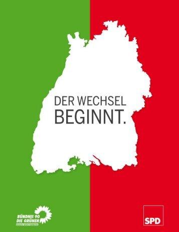 Der Koalitionsvertrag - Winfried Hermann
