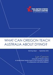 What can Oregon teach Australia about dying? - United States ...