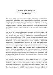 Le Traité de Paris de septembre 1783: Traité ... - Sciences Po