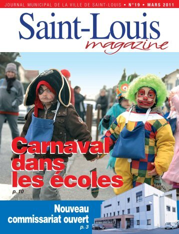Saint-Louis magazine n o 19 en pdf