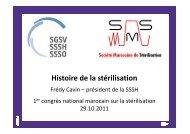 Histoire sur la stérilisation Maroc 2011x - Société Suisse de ...