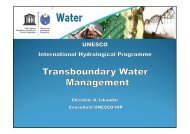 Transboundary Water Management - 6th World Water Forum