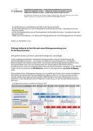 Begleitschreiben IKA-Nullserie BiVo 2012 - KV Schweiz