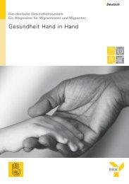 Gesundheit Hand in Hand - Diakonisches Werk Hannover