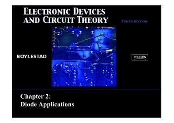 Chapter 2: Diode Applications - Webstaff.kmutt.ac.th