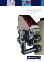 Automatisches Rückspülventil Automatic Multiport Valves - AstralPool