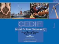Why CEDIF? - Government of Nova Scotia