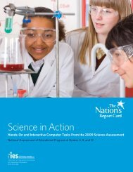 Science in Action - ERIC - U.S. Department of Education