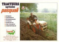 Pasquali 4x4 tractor
